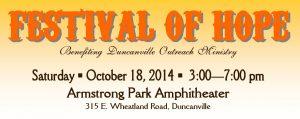 2014 Festival of Hope